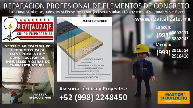 Master Brace, revitalizate, Basf, Distribuidor, Mbrace